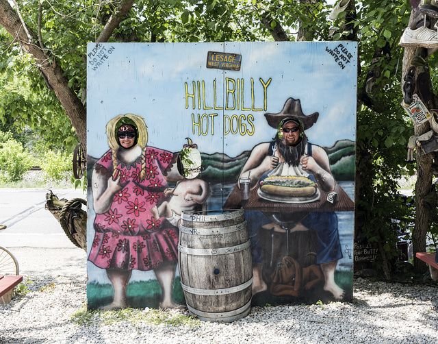 Do it yourself photo op at the hillbilly hot dogs stand along west do it yourself photo op at the hillbilly hot dogs stand along west virginia solutioingenieria Choice Image