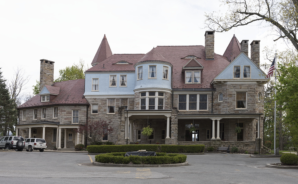 Davis And Elkins >> Graceland Mansion On The Campus Of Davis Elkins College In