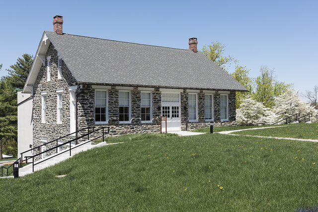 Library building at the former Storer College in Harpers Ferry, West Virginia
