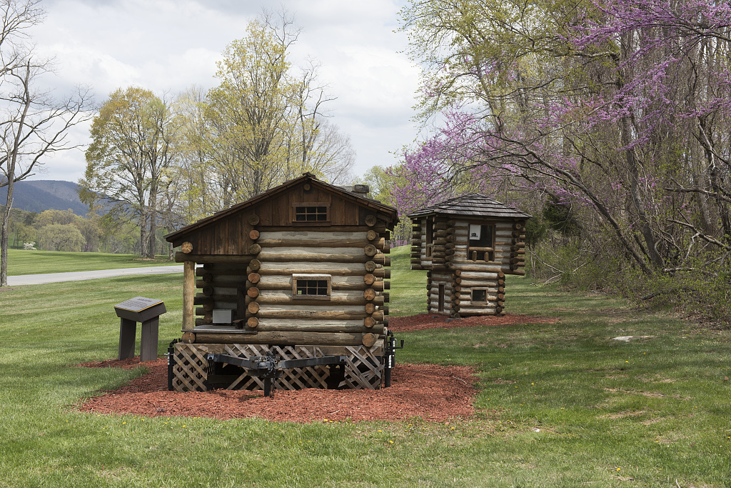 Miniature Models Of Cabins At Cacapon Resort State Park