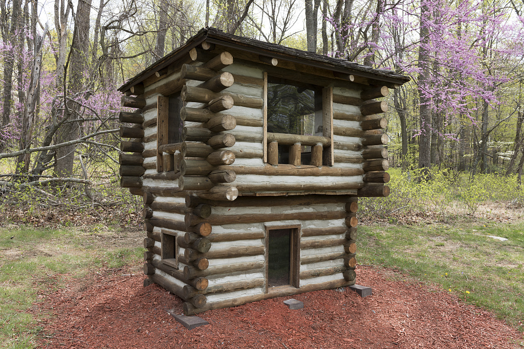 Model Of Cabin No 8 At Cacapon Resort State Park Near
