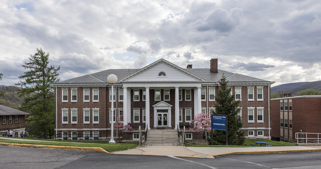 Reynolds Hall, a dormitory at Potomac State College of West Virginia University, a two-year junior college affiliated as a division of West Virginia University located in Keyser, West Virginia