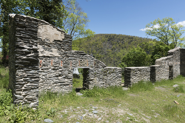 Ruins of St. John's Episcopal Church in Harpers Ferry, West Virginia