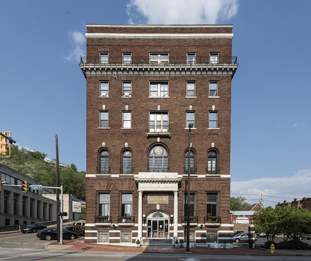 The 1915 Young Women's Christian Association (YWCA) Building in downtown Wheeling, West Virginia