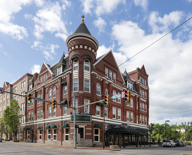 The Blennerhassett Hotel in Parkersburg, West Virginia