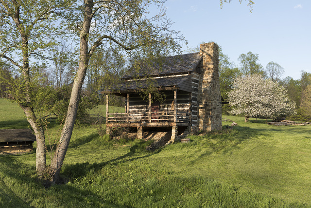 The Jacob Prickett Jr. log house, built in 1781, is the oldest residential structure still standing in Marion County, West Virginia. When it was first built, it was unusual to have a full second floor and full cellar for this area