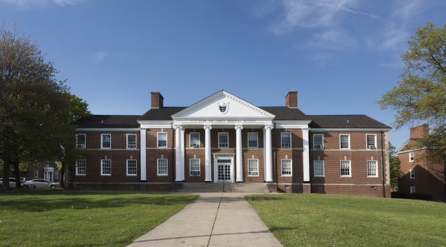 The L.L. Loar and Family Memorial classroom building on the campus of West Virginia Wesleyan College in Buckhannon, West Virginia