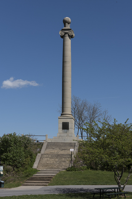 The Rumsey Monument, honoring inventor James Rumsey, in Shepherdstown, West Virginia