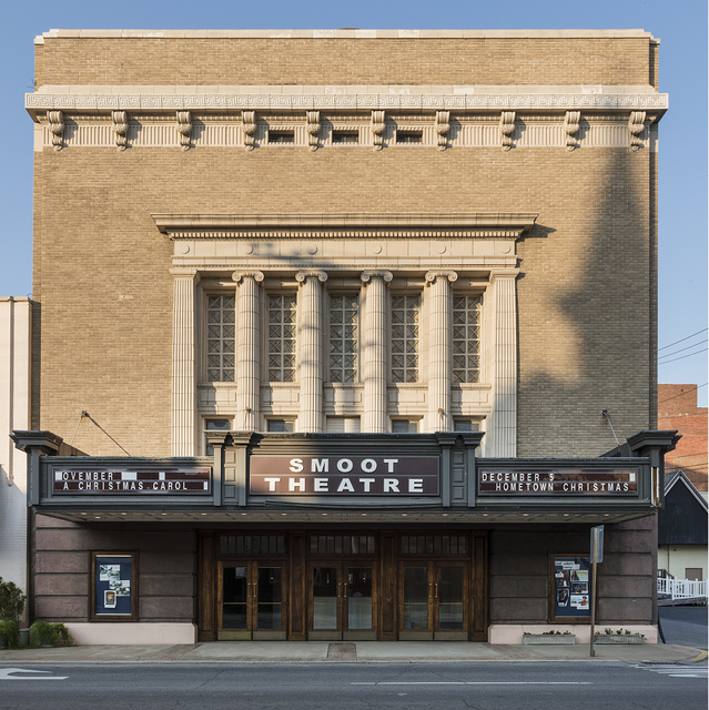The Smoot Theatre in downtown Parkersburg, West Virginia