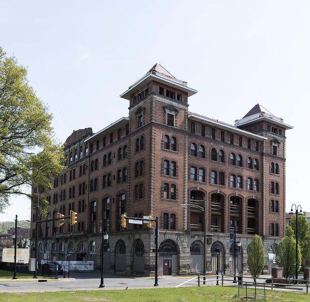 The Waldo Hotel in Clarksburg, West Virginia