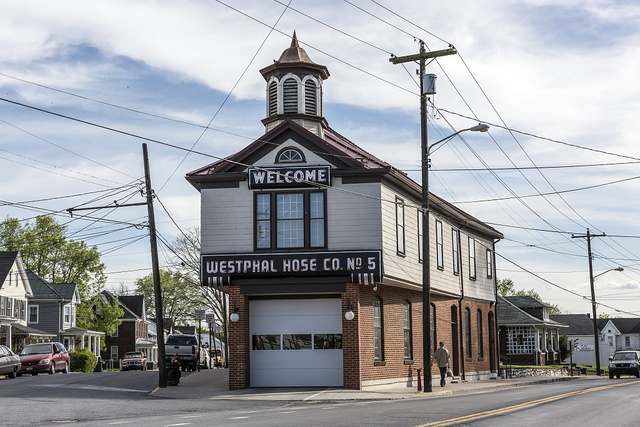 Westphal Hose Co. fire house No. 5 in Martinsburg, West Virginia