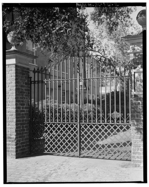 10-38 Chalmers Street (Gates), Charleston, Charleston County, SC
