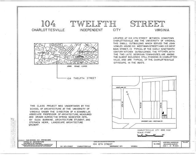 104 Twelfth Street (Outbuilding), Charlottesville, Charlottesville, VA