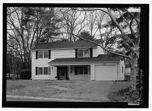 12400 Shadow Lane (House), Bowie, Prince George's County, MD