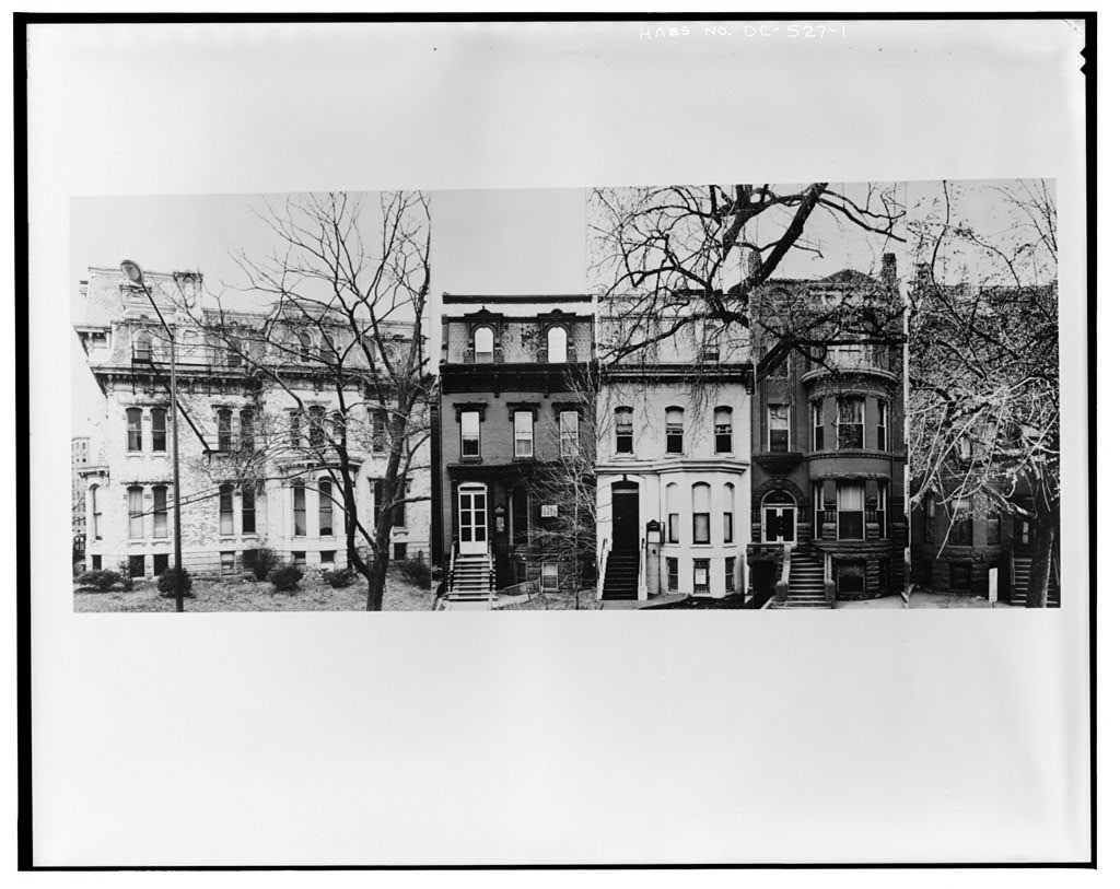 1300-1322 Rhode Island Avenue Northwest (Houses), Washington, District of Columbia, DC