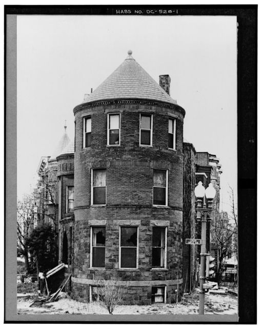 1301-1313 Rhode Island Avenue Northwest (Houses), Washington, District of Columbia, DC