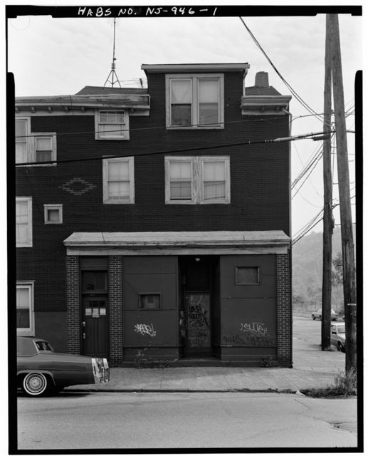 144 Oliver Street (House), 144 Oliver Street, Paterson, Passaic County, NJ