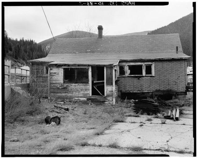 15 Westside (House), Wallace, Shoshone County, ID