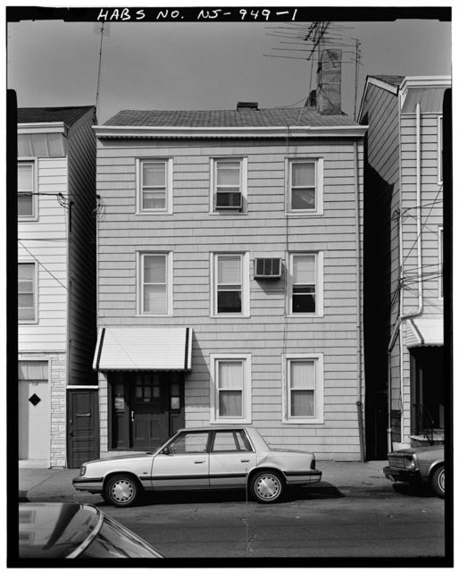 169 Oliver Street (House), 169 Oliver Street, Paterson, Passaic County, NJ
