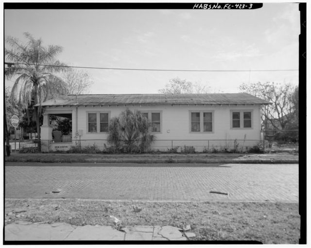 1701 East Fifteenth Avenue (House), Tampa, Hillsborough County, FL
