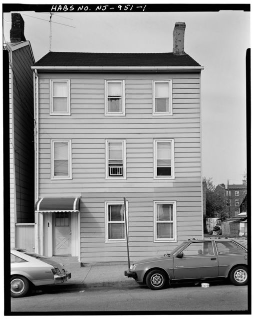 173 Oliver Street (House), 173 Oliver Street, Paterson, Passaic County, NJ