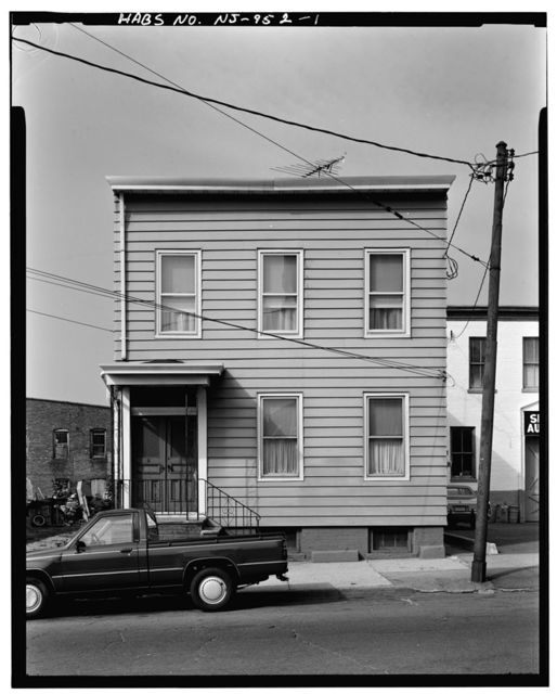 177 Oliver Street, Front (House), 177 Oliver Street, Paterson, Passaic County, NJ