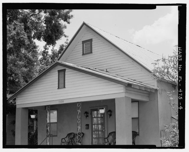 1920 West Laurel Street (House), Tampa, Hillsborough County, FL