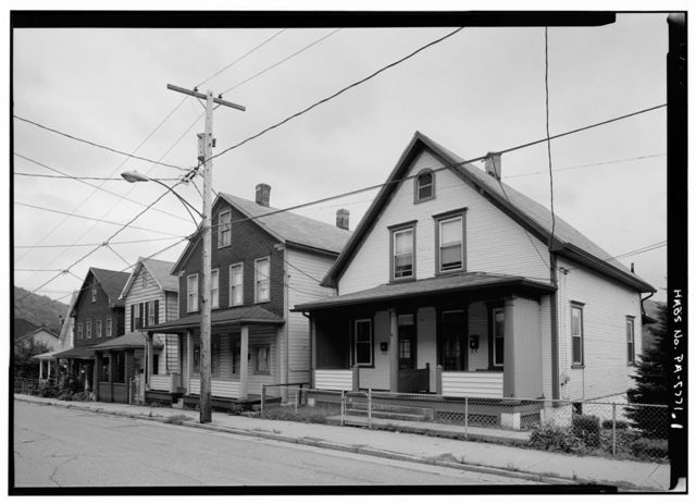195-197 Iron Street (House), Johnstown, Cambria County, PA