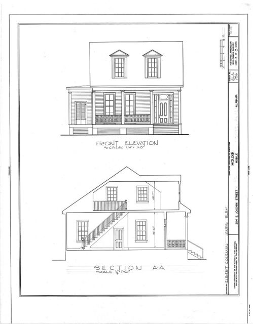 204 South Joachim Street (House), Mobile, Mobile County, AL