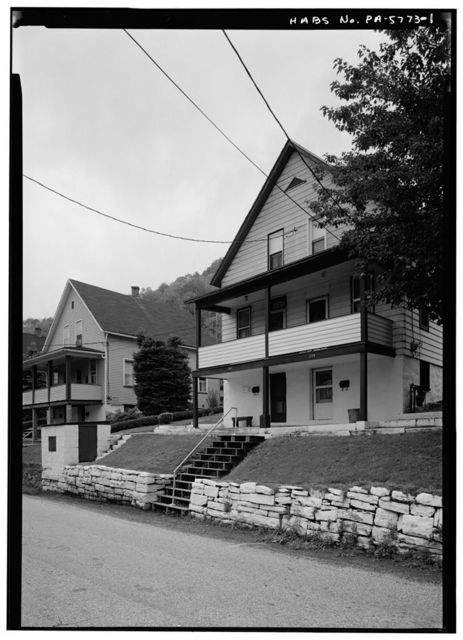 248-250 Iron Street (House), Johnstown, Cambria County, PA