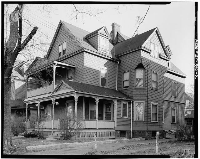 286-288 Sigourney Street Residence, (Moved to 195 Sargeant Street), Hartford, Hartford County, CT