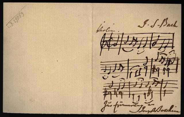 [3. Sonata, Fuga, BWV 1005 by J. S. Bach]