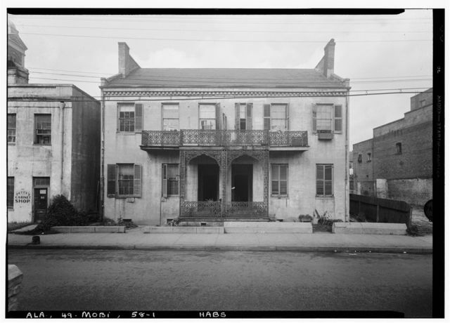 308-310 Conti Street (Double House), Mobile, Mobile County, AL