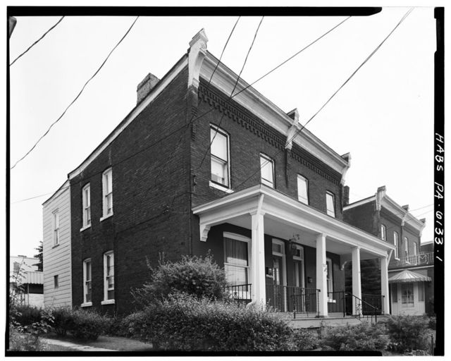 312-314 South Sixth Street (Double House), Jeannette, Westmoreland County, PA