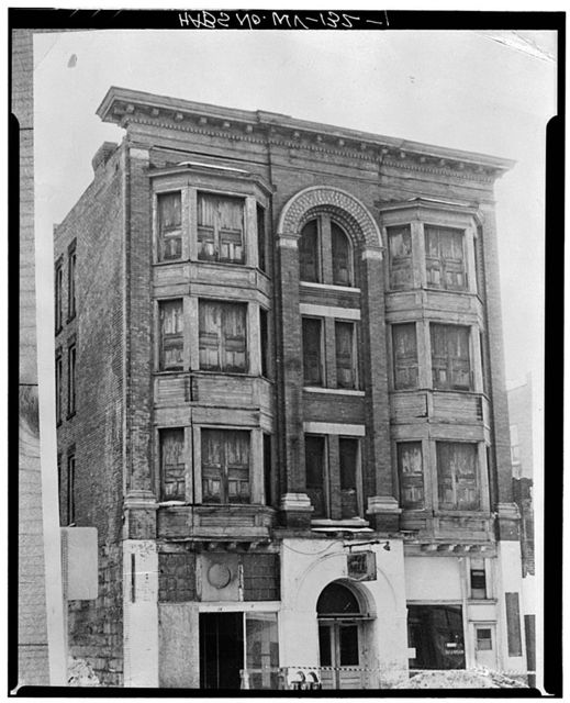 312 Madison Street (Commercial Building), Fairmont, Marion County, WV