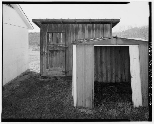 3240 Cyrus Road, Tool Room Shed, About 25 feet directly behind house, Cyrus, Wayne County, WV