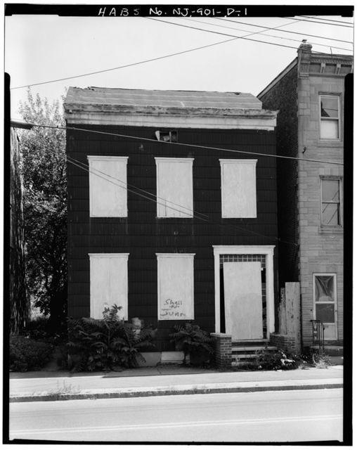 403-521 Market Street (Houses & Commercial Buildings), John Nutt Jr. House, 409-411 Market Street, Trenton, Mercer County, NJ