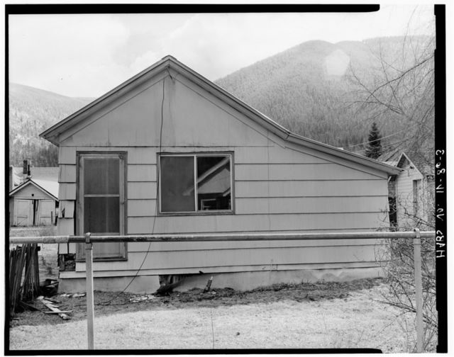 5 Spruce Street (House), Wallace, Shoshone County, ID