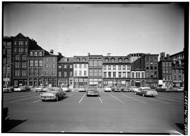 503-527 Arch Street (Houses), Philadelphia, Philadelphia County, PA