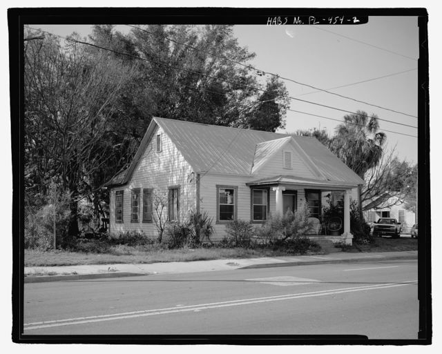 603 East Palm Avenue (House), Tampa, Hillsborough County, FL