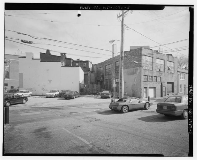 626-628 North Eutaw Street (Commercial Building), 626-628 North Eutaw Street & 400-412 Druid Hill Avenue on a block bounded by North Eutaw Street, George Street, Jaspar Street, & Druid Hill Avenue, Baltimore, Independent City, MD