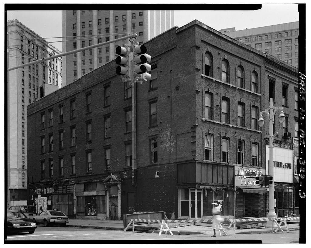 74-78 Monroe Avenue (Commercial Building), Detroit, Wayne County, MI