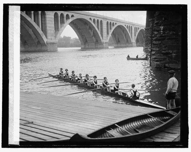 8-oar shell crew of Capital Athletic Club, 5/1/26