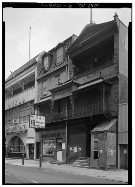 907-909 Race Street (Commercial Buildings), Philadelphia, Philadelphia County, PA