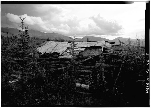 A. D. Wilcox Drift Mine, Residential Cabin, Linda Creek near Dalton Highway, Bettles, Yukon-Koyukuk Census Area, AK