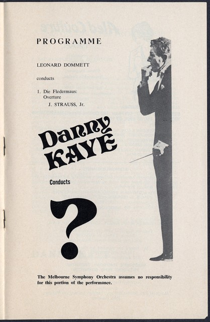 A  Gala Evening with Danny Kaye and the Melbourne Symphony Orchestra