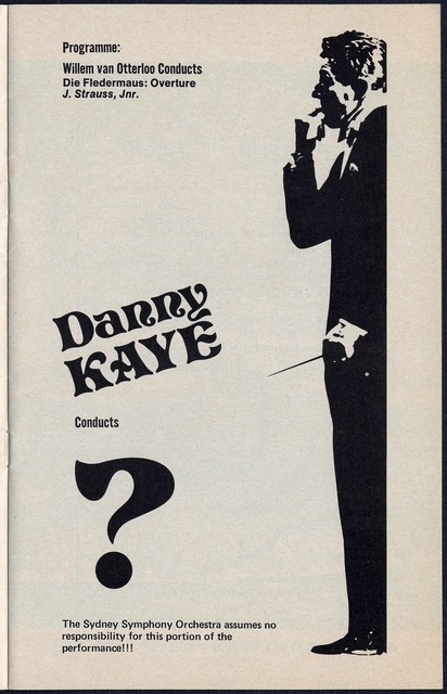 A  Gala Evening with Danny Kaye and the Sydney Symphony Orchestra