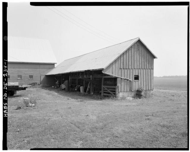 A. M. Vail Cartshed, Route 438, Odessa, New Castle County, DE