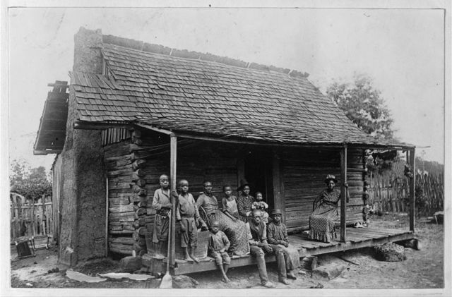 A Slave Cabin in Barbour County, Near Eufaula