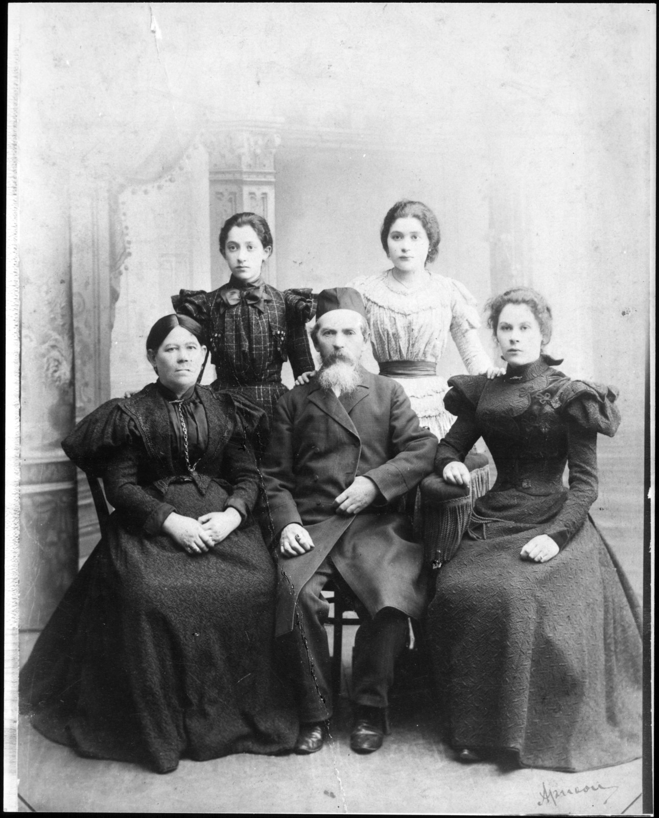 Aaron Copland's paternal grandparents, 1899